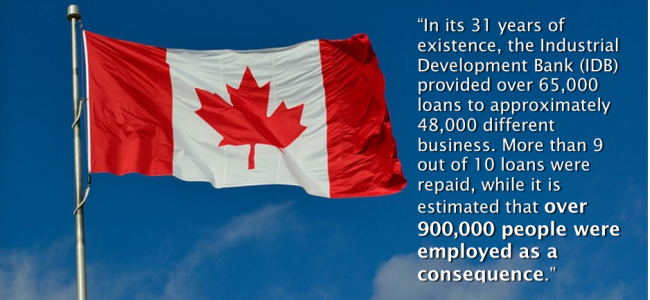 CANADA - NEW ZELAND - MONEY CREATION